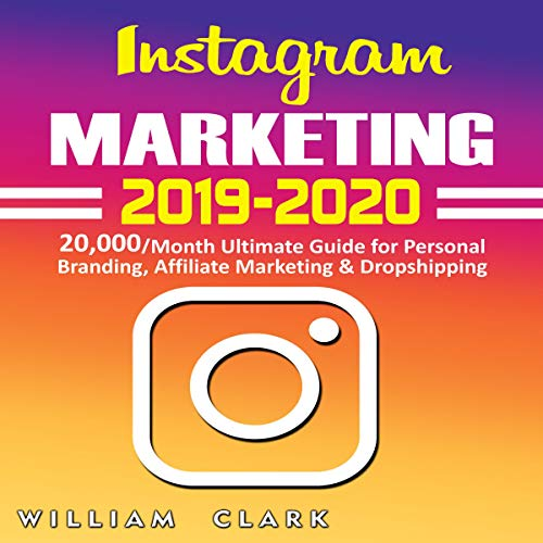 Instagram Marketing 2019-2020 audiobook cover art