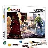 Rompecabezas para adultos 500 rompecabezas para adultos Avengers 2 Ultron Age Hulk vs Hulk Movie Poster Puzzle Juegos educativos Rompecabezas de decoración del hogar