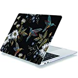 Laptop Case for MacBook Pro 16 Inch 2019 Release A2141 Plastic Hard Shell Cover Compatible with MacBook Pro 16' with Touch Bar & Touch ID Embroidery Birds
