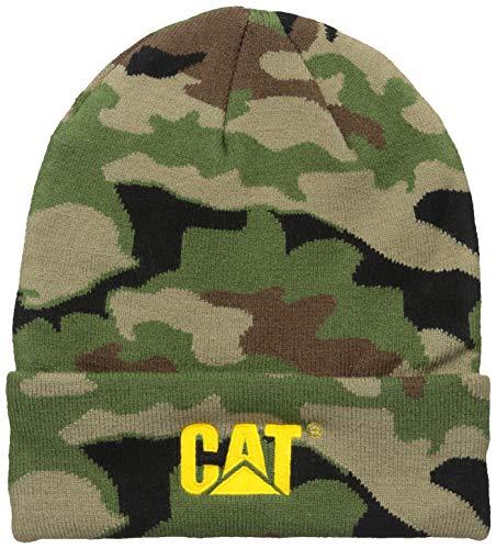 Caterpillar Herren Trademark Cuff Beanie Strickmütze, Woodlang/Camouflage, Einheitsgröße
