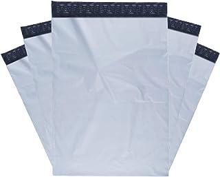 RBHK 100 Pcs 10 x 13 Poly Mailers Envelopes Shipping Bags (White)