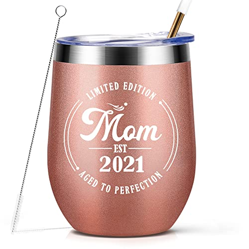 Mom Est 2021, Pregnancy Gifts For First Time Moms, Valentines Day...