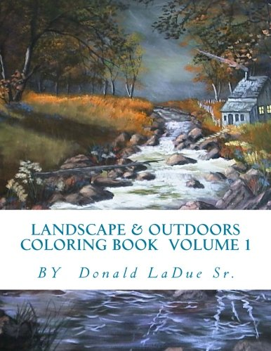 Landscape & Outdoors Coloring Bo...