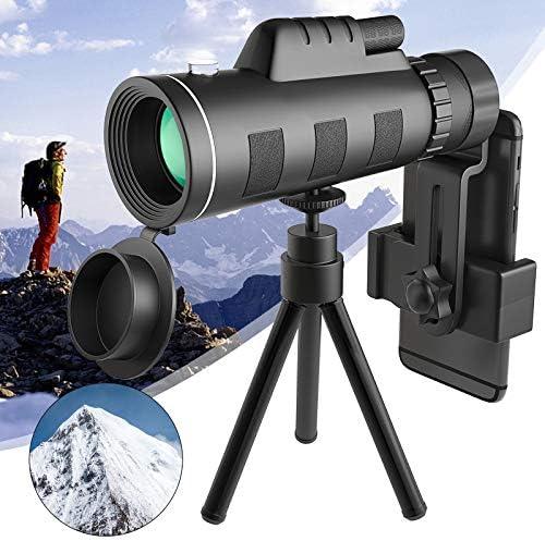 SFABF Monocular Telescope 40x60 Monocular with Smartphone Holder Tripod Night Vision Waterproof product image
