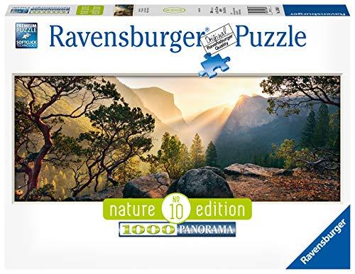 Ravensburger Puzzle 15083 - Yosemite Park - 1000 Teile Puzzle für Erwachsene und Kinder ab 14 Jahren, Landschaftspuzzle im Panorama-Format