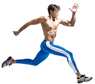 LUKEEXIN Men's Compression Leggings Baselayer Cool Dry Sports Tights Pants
