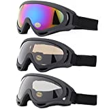 Ski Goggles, Yidomto Pack of 3 Snowboard Goggles for Kids,Boys,Girls,Youth,...