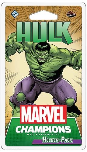 Fantasy Flight Games FFGD2908 Asmodee Marvel Champions: Das Kartenspiel - Hulk, Helden Erweiterung, Deckbau, Deutsch