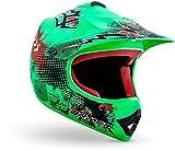 "Armor · AKC-49 ""Limited Green"" (green) · Cross casque pour enfants · Sport MX..."