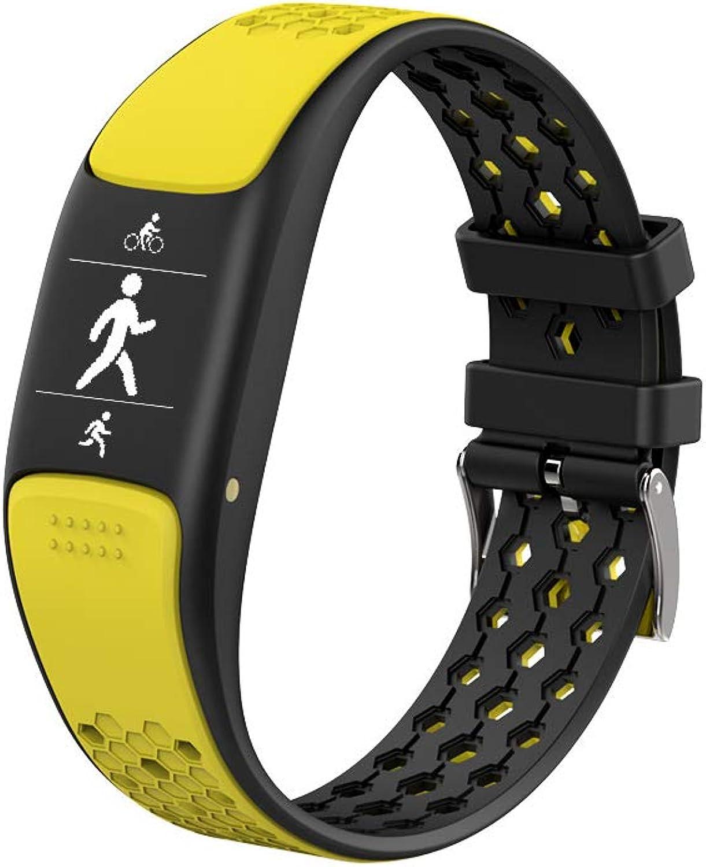 CHENG Sportuhr mit Pulsmesser Wasserdichter IP68-Kalorien-Zhler Intelligente Benachrichtigungen Fitness-Tracker