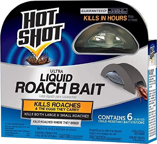 Hot Shot HG-95789 Roach Killer, Case Pack of 2, Brown/A