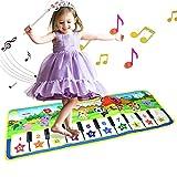 Alfombrillas musicales para niños, letease, piano para bebé, manta de juguete para jugar al juego,...