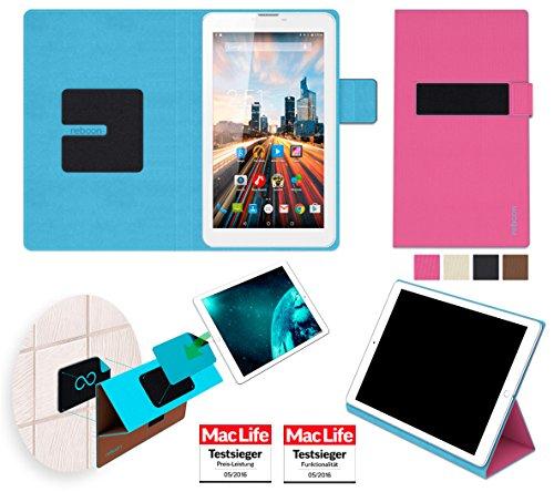 Hülle für Archos 70 Helium 4G Tasche Cover Hülle Bumper   in Pink   Testsieger