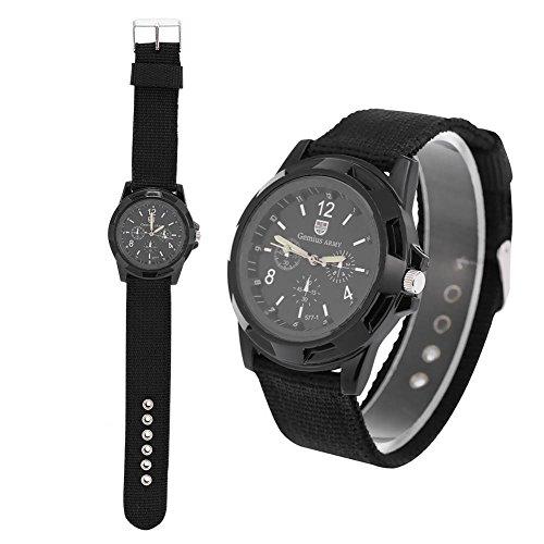 Reloj de pulsera digital electrónico para hombre Reloj de pulsera resistente para mujer de moda de nylon Relojes de pulsera de moda de moda masculina