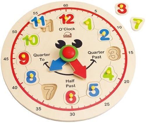 Hape - Happy Hour Clock Puzzle by Educo