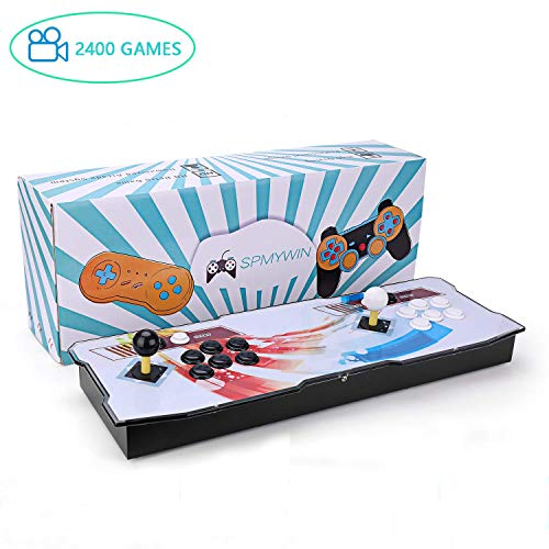 Spmywin 2400 2D Pandora Box Console Giochi 1280x720 Full HD Arcade Machine Videogiochi Portatili Console CPU Avanzata Espandi giochi 2D