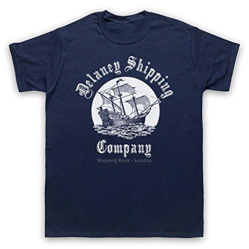 Taboo Delaney Shipping Company Herren T-Shirt, Ultramarinblau, XL