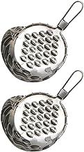Yardwe 2Pcs Gelée Grattoir Beurre de Fromage Râpe En Acier Inoxydable Broyeur Alimentaire Cuisine Pâte Grattage Outil de C...