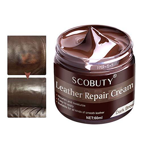 SCOBUTY Kits de reparación de Cuero,Crema De Reparación De Cuero, Kit de...