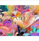 WAZHCY Pintura por Números Para Adultos Dos Buenos Amigos Lakeside Visión Cisne Regalo Para Amigo Kid DIY 40X50CM Sin Marco