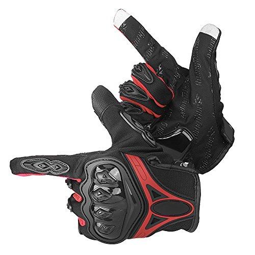 Guantes de invierno para motocicleta, guantes térmicos antideslizante