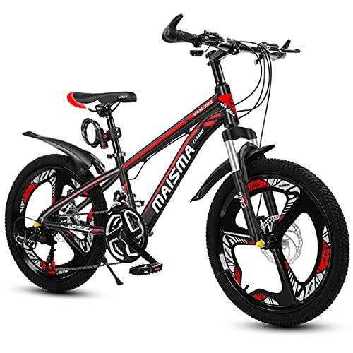 FLYFO Kinder Mountainbike 21 Geschwindigkeit MTB Aluminiumlegierung Fahrrad zum 8-17 Jahre alt Jungen Studenten Mädchen Doppelscheibenbremse Bestes Geburtstagsgeschenk 22 Zoll,B,22inch