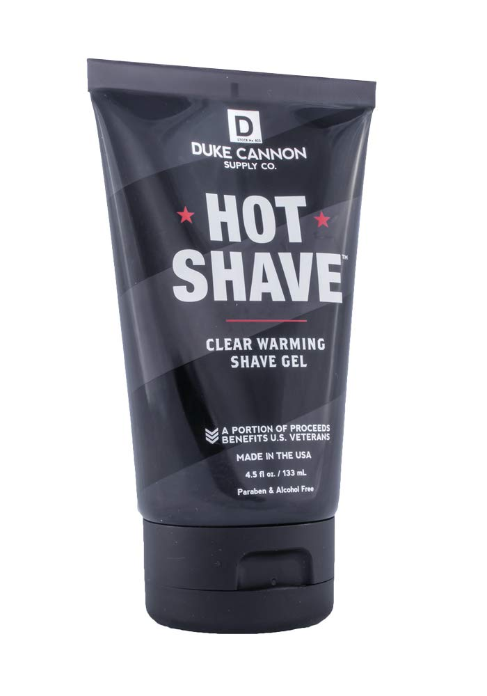 Duke Cannon Supply Co. - Hot Shave Unsc Now on sale Louisville-Jefferson County Mall Gel Clear Warming