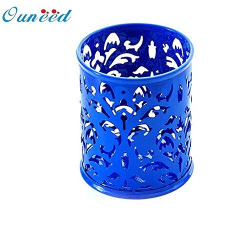 Ouneed u6927 Pot de pinceaux de maquillage avec motif de vase