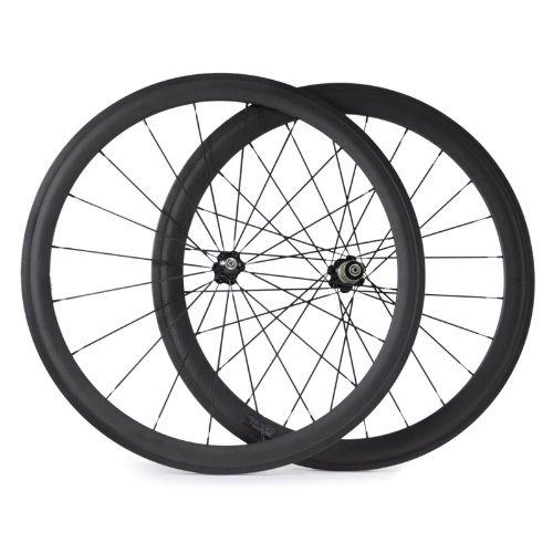 VCYCLE Nopea 700C Rennrad Carbon Laufradsatz Drahtreifen Vorne 38mm Hinten 50mm Basalt Bremsen Oberfläche 23mm Breite Campagnolo 9/10/11 Speed