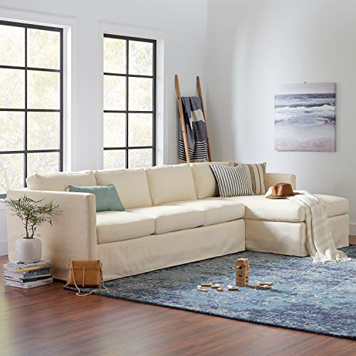 Amazon Brand – Rivet Contemporary Fir Decorative Blanket Ladder with Iron Rungs - 71.65