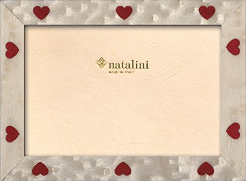 Natalini Bianchi Cuori 13X18, Legno Tulipier, 13 X 18 X 1,5