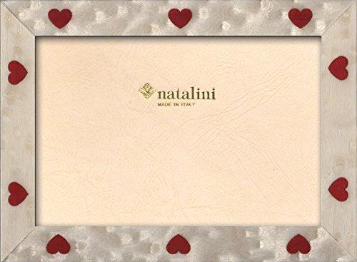 Natalini Cuori Bianchi 10X15, Legno Tulipier, 10 X 15 X 1,5