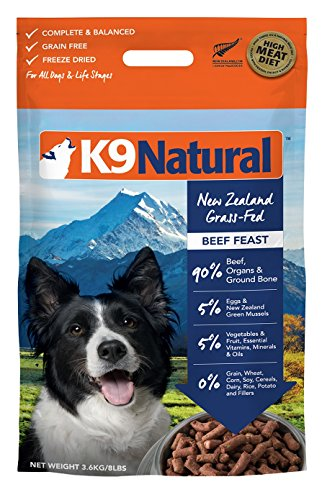 K9 Natural Freeze Dried Dog Food