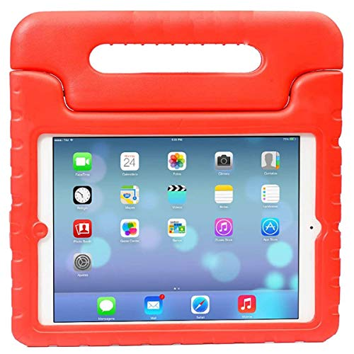 Case for New iPad 10.2 Inch 2020/2019 (8th/7th Generation), Shockproof Lightweight Kids Friendly Convertible Handle Stand Protective Case for 2020/2019 iPad 10.2, iPad Air 3 10.5 2019 - Red