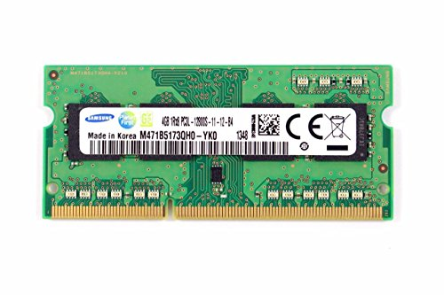 Samsung Laptop Memory 4GB 1Rx8PC3L-12800S-11-13-B4 M471B5173QH0-YK0