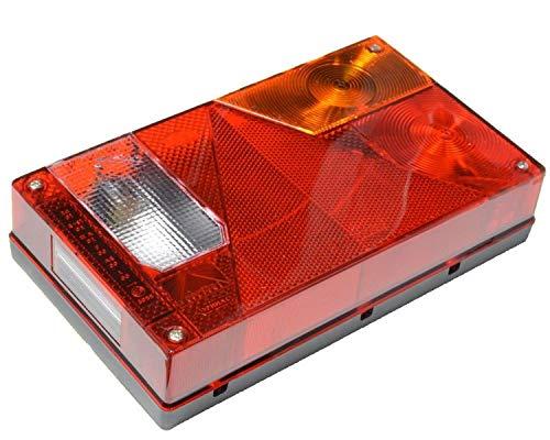 Aspöck Multipoint 1 Rückleuchte rechts mit Rückfahrscheinwerfer