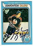 1979 OPC #18 WAYNE GRETZKY Rookie Card HOF Edmonton Oilers Canadian REPRINT Facsimile Auto - Hockey Card. rookie card picture
