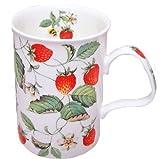 Roy Kirkham Strawberries Fine Bone China Lancaster Mug