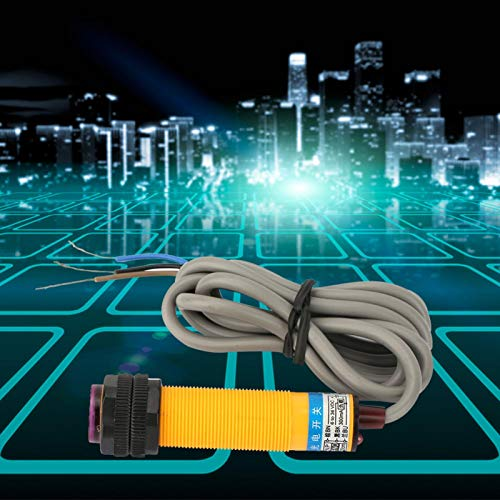 Interruptor de proximidad inductivo Interruptor fotoeléctrico sensible DC6-36V PNP Distancia ajustable para control