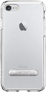 كفر ايفون 7 , iPhone 7 , شفاف , صلب من الخلف , إطار مرن , ستاند