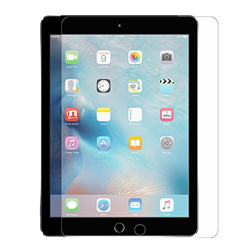 Supone 2-Pack iPad 2 3 4 Glass Screen Protector, 9H Hardness HD Clear Film Ultra Thin Guard Anti-bubble Tempered Glass Screen Protector For Apple iPad 2 3 4