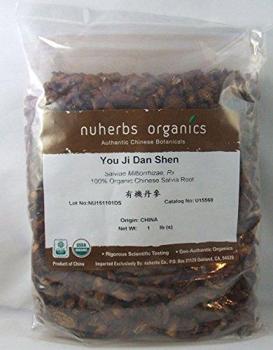 Organic Salvia Root - You Ji Dan Shen - Red Sage Root - One Pound