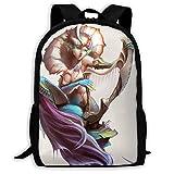 Laptop Bag,Mer-Maid Beauty Bookbag Casual Travel Bag Yoga Casual Printed Backpack 32cm(W) x42cm(H)