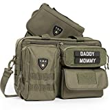 mommy gear - Tactical Baby Gear Deuce 2.0 Tactical Diaper Bag with Changing Mat (Ranger Green)