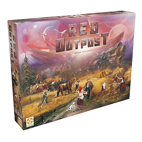 Lifestyle Boardgames LSBD0004 Red Outpost