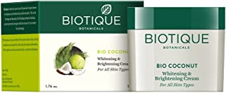 Biotique Bio Coconut Whitening And Brightening Cream, 50g