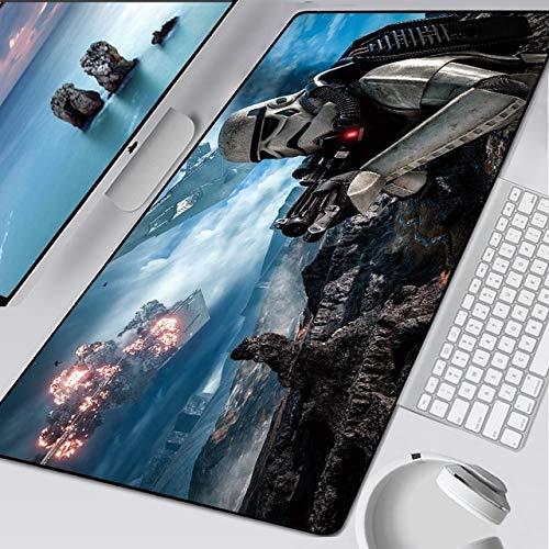 TonyJameJPStore Star Wars Mouse Pad Fashion Laptop XXL Computer Mouse Mat 800x300mm Gaming Mousepad HD Large XL Gamer Desk Keyboard Play Mats - StarWars-043 - 700x300x2mm
