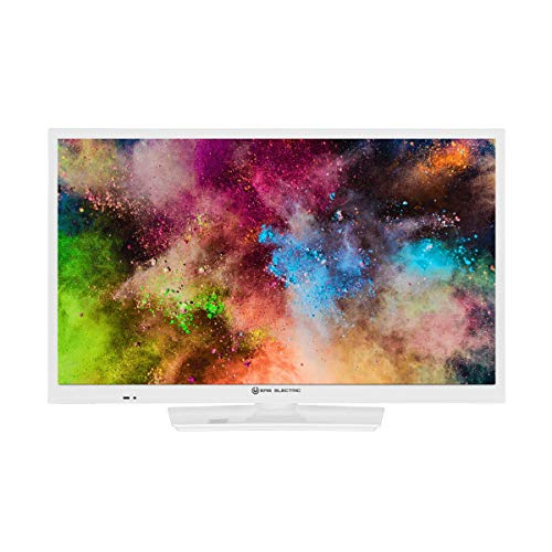EAS Electric | E24AN70W | Televisor Blanco | Televisión 24 Pulgadas | Smart TV | LED (ELED) | HD Ready 1366 x 768 16:9 | DVB-T/T2/C/S/S2 HEVC | WiFi | Android TV | Google Cast | USB 2 | HDMI 3