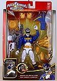 Power Rangers - 35181 - Megaforce - Blauer Ultra Mode Ranger - con Armadura y Armas - Aproximadamente 16 cm