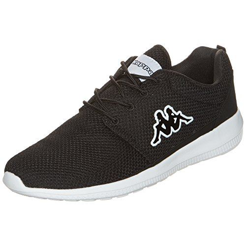 Kappa Speed II, Zapatillas Unisex Adulto, Negro (1110 Black/White), 43 EU